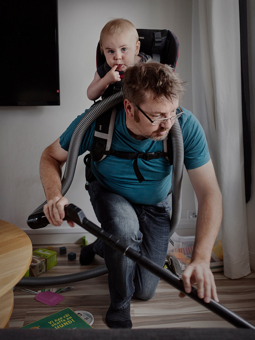 Swedish Dads Project by photographer Johan Bävman