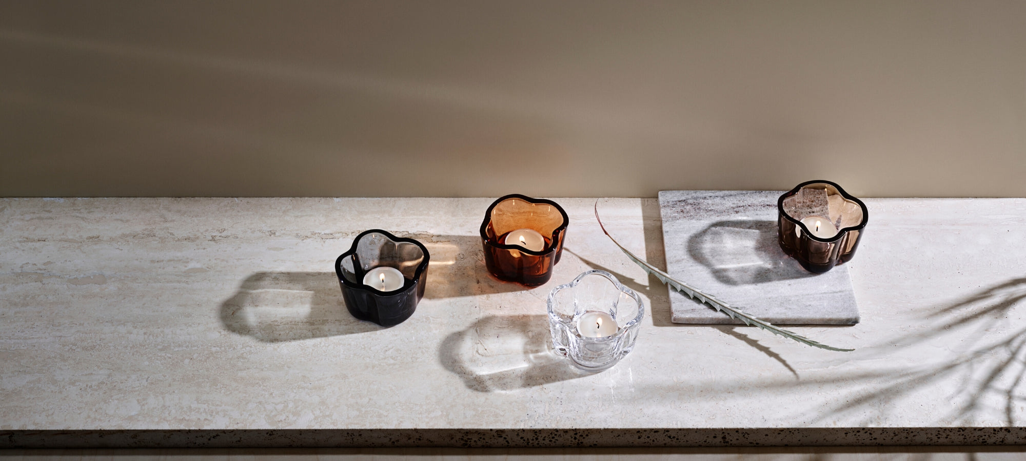 Iittala Alvar Aalto Collection Tealight Holders