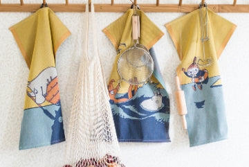 Ekelund #oursea Moomin towels
