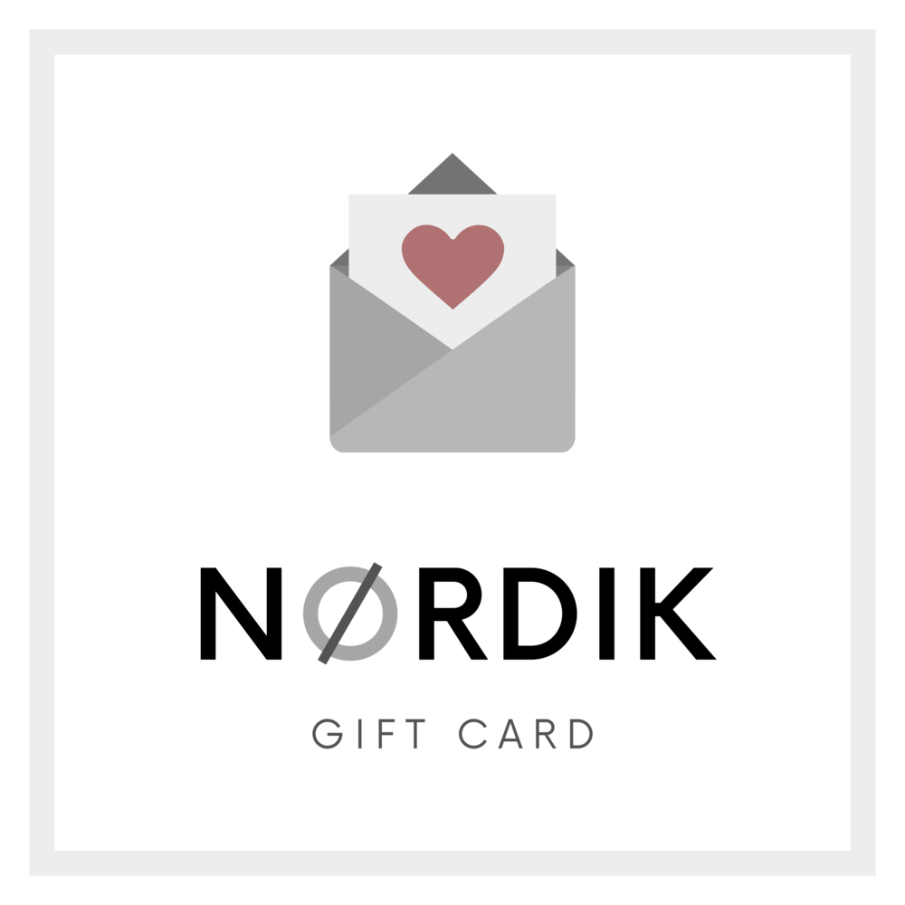 wedding gift nordik design gift card