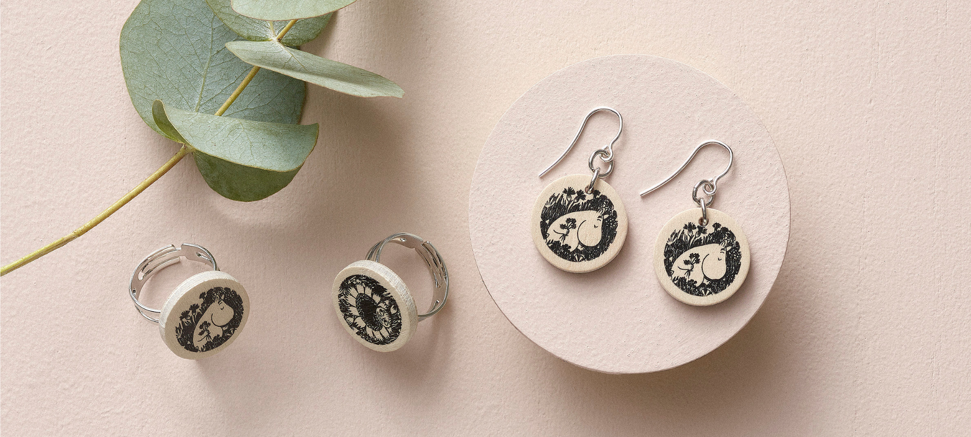 aarikka moomin earrings jewelry inspiration