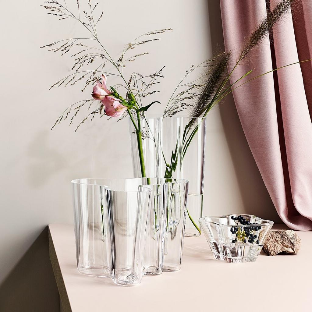 wedding gift aalto vase clear