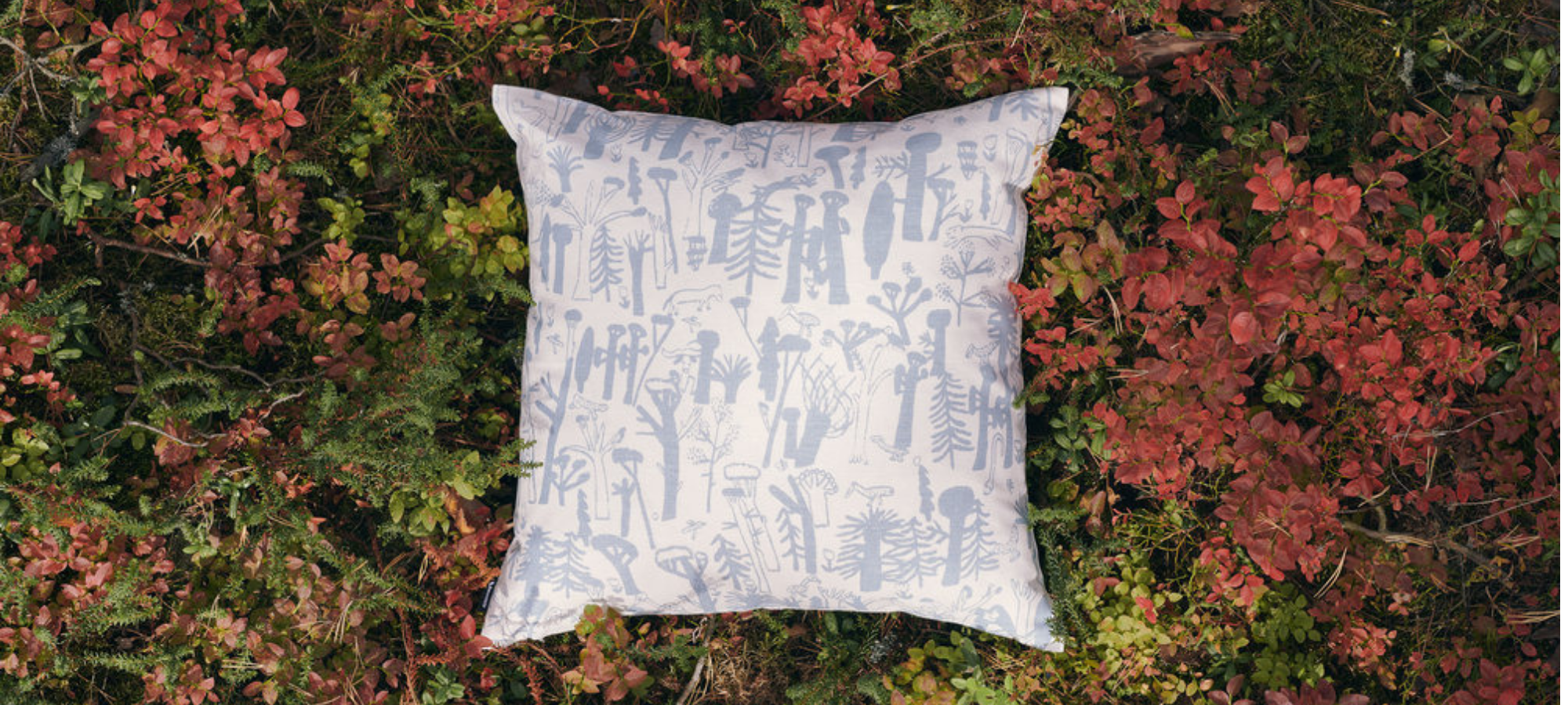 kauniste woodlands cushion cover valentines day gift ideas