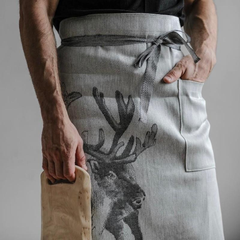 wedding gift reindeer apron