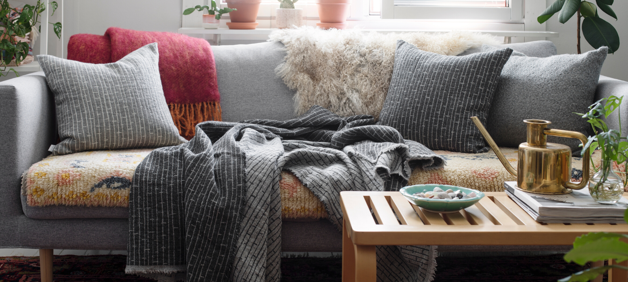 Sustainable Scandinavian Cushion Covers