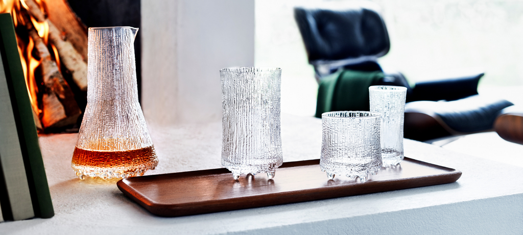iittala ultima thule glasses pitcher set