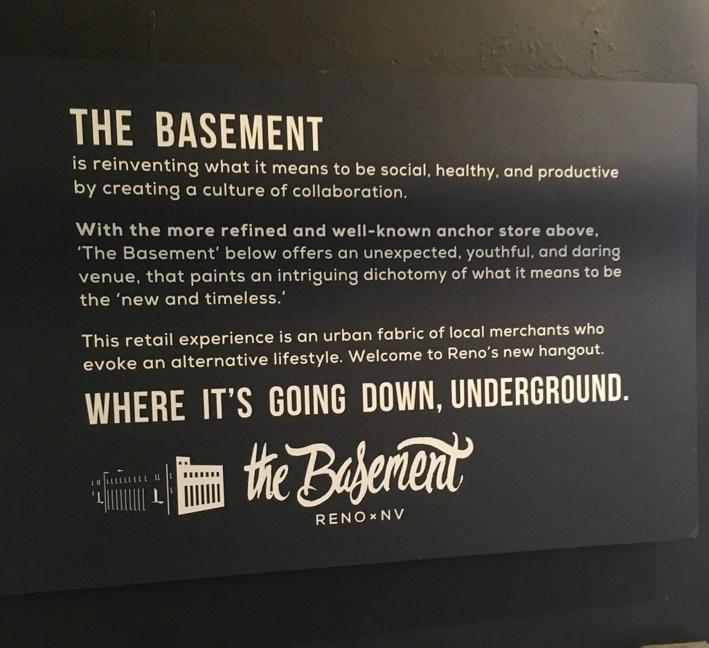 the basement reno nordik design store