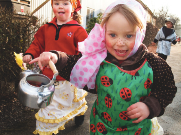 "Little """"Easter witches"" going door to door in Sweden"