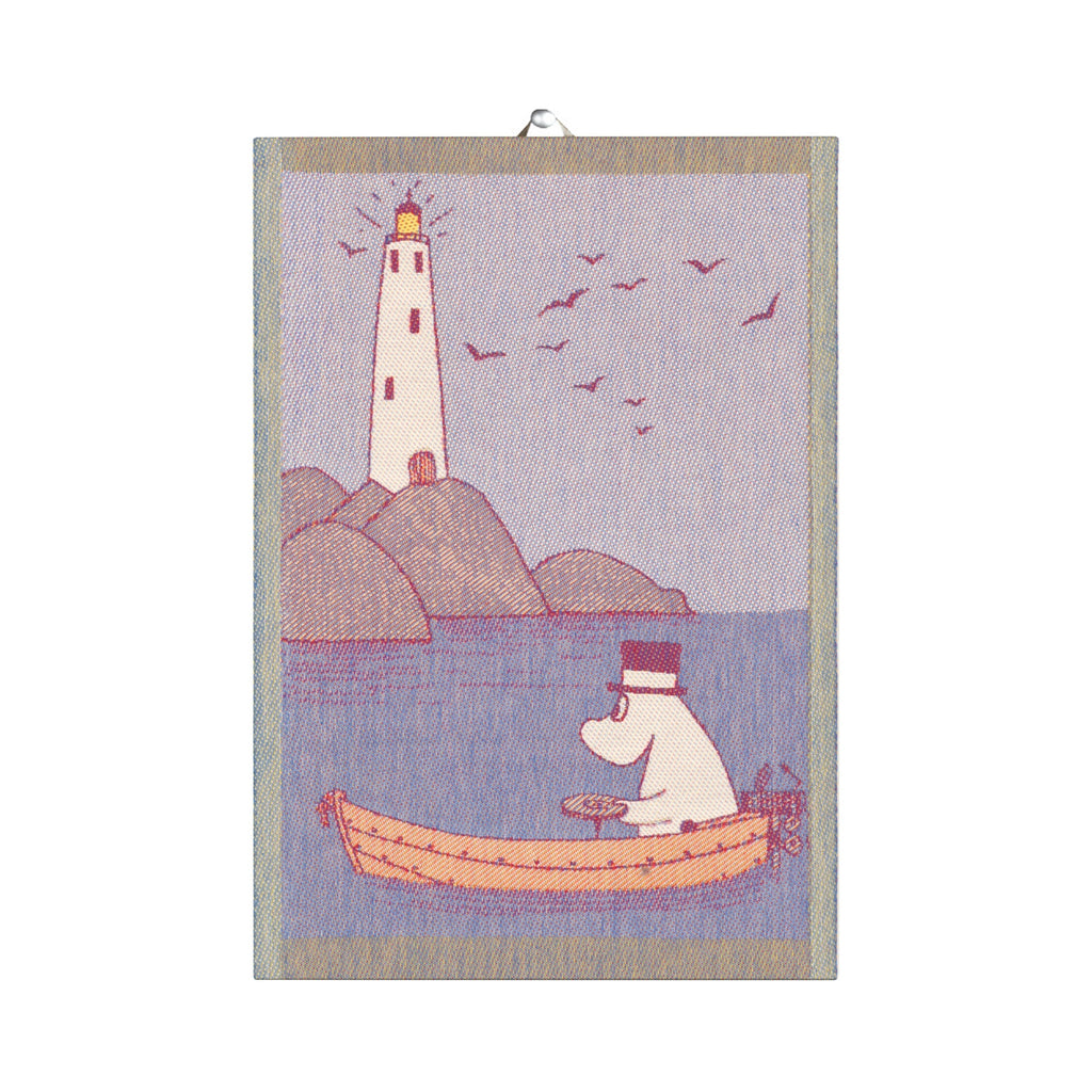 Ekelund Moominpappa row your boat towel