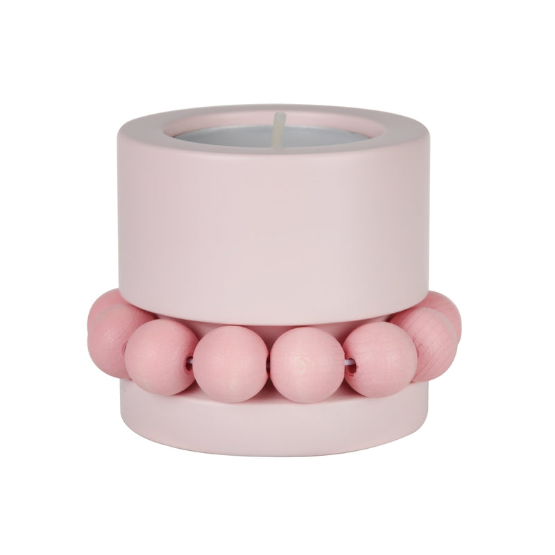 "Aarikka PRINSESSA Tea Light Candle Holder (2"" ) Pink"