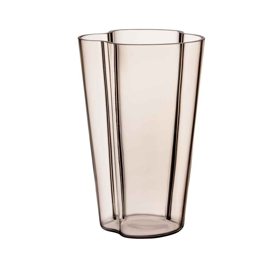 "Iittala ALVAR AALTO COLLECTION Vase (8.75"") linen"