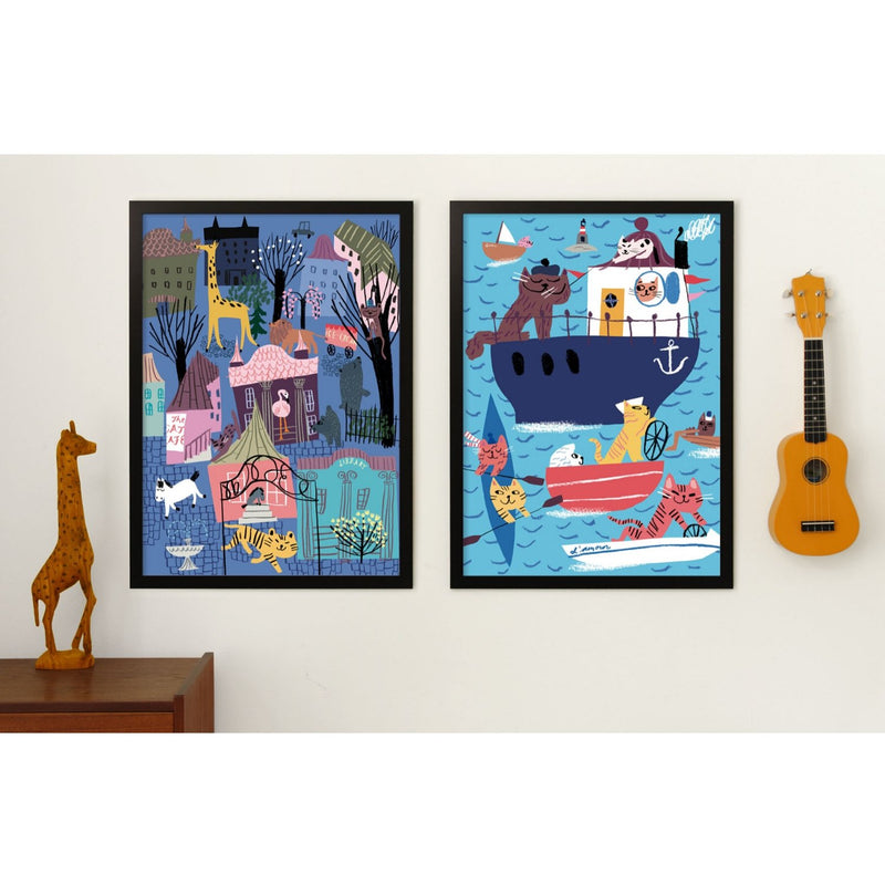 Kehvola NIGHTLIFE print