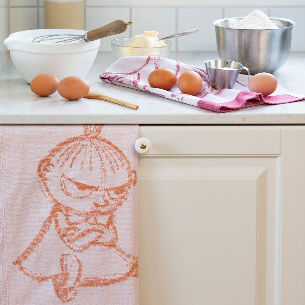 Ekelund Little My moomin towel orange