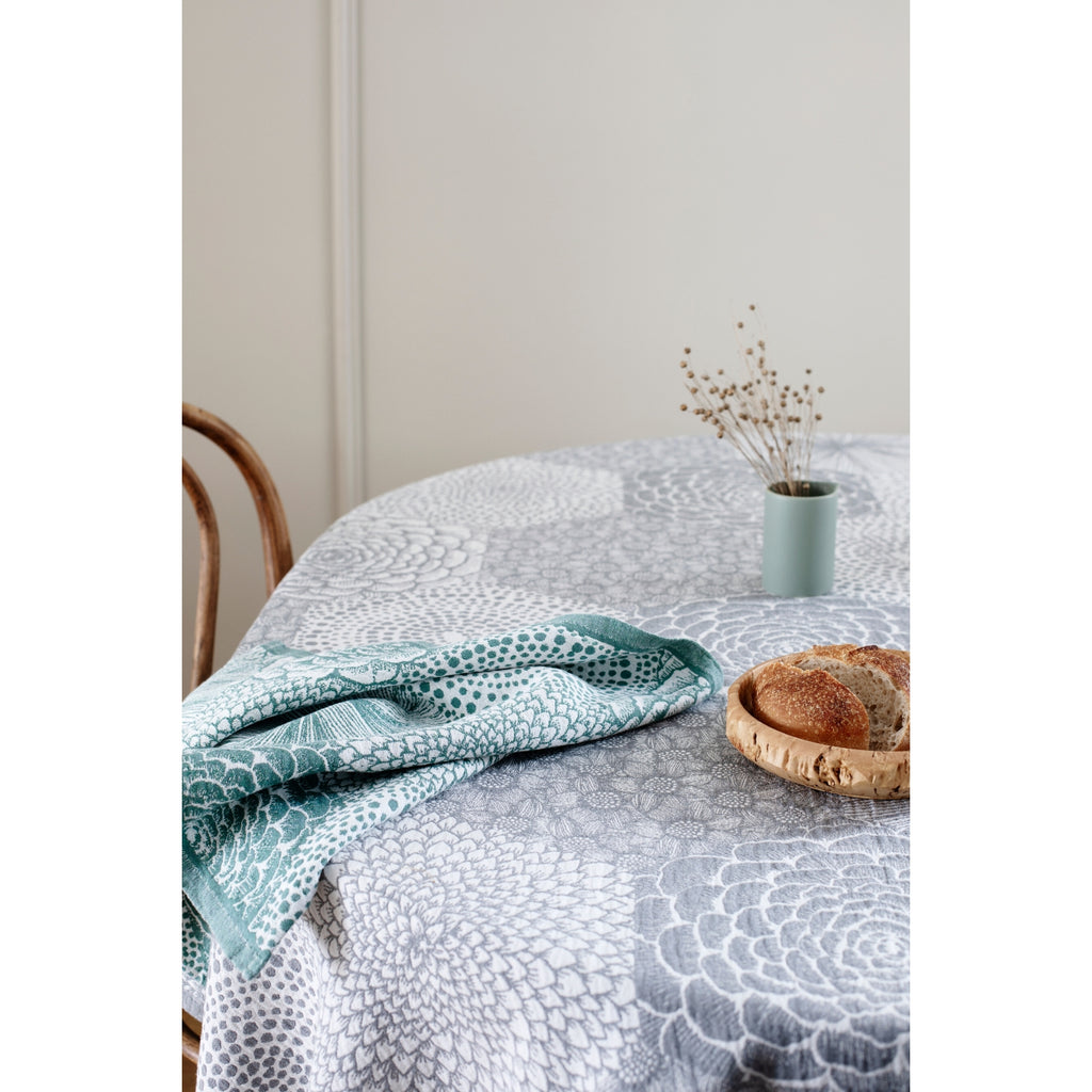 Lapuan Kankurit RUUT linen Blanket/Tablecloth grey
