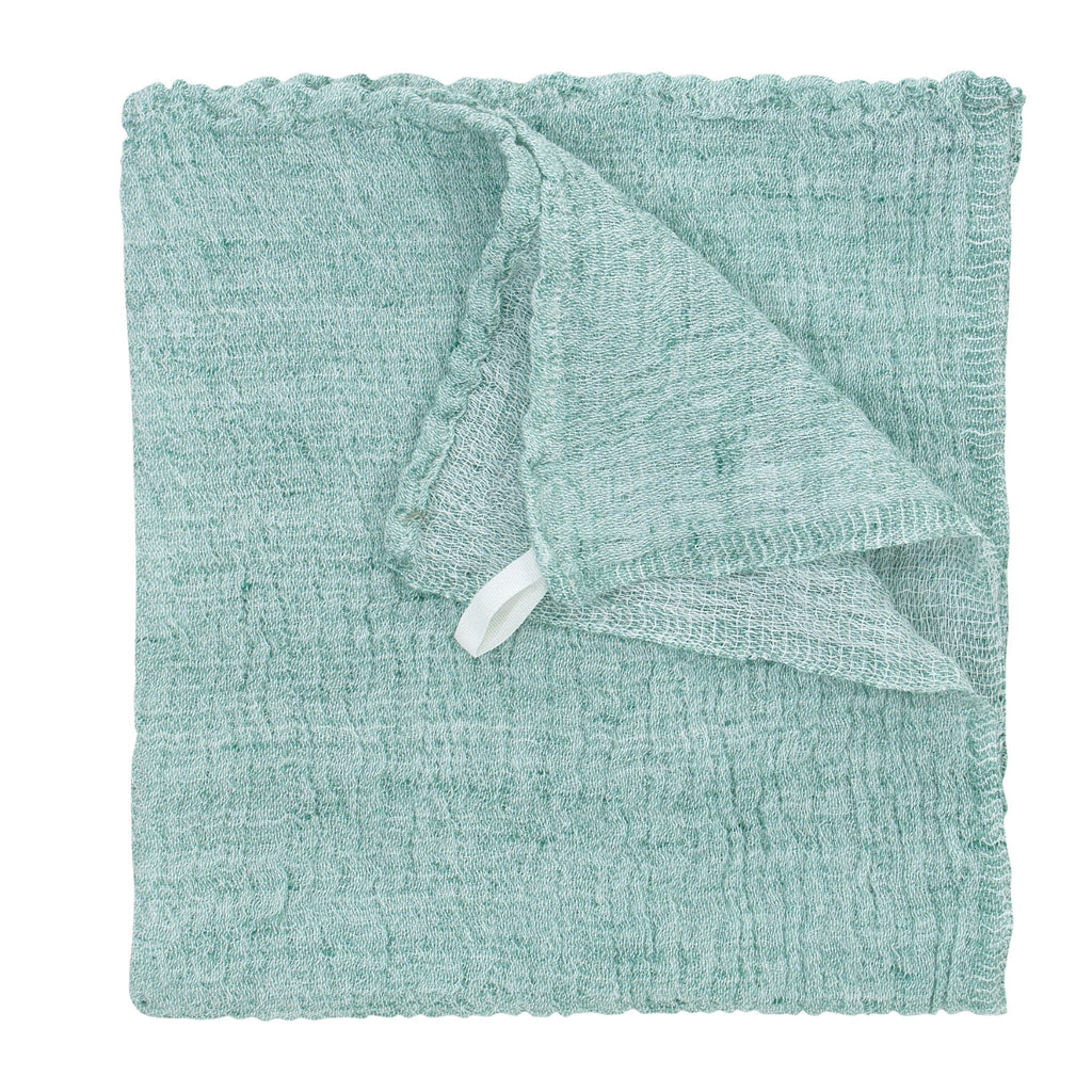 Lapuan Kankurit NYYTTI Hand Towel / Wash Cloth White-Green