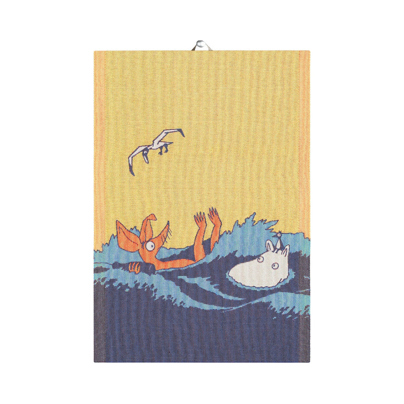 Ekelund Moomin Waves (#OURSEA) towel