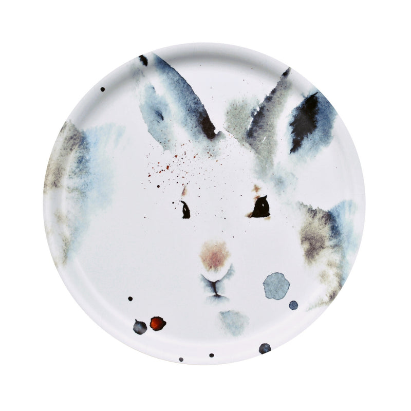 Ester Visual WHITE HARE Tray (14