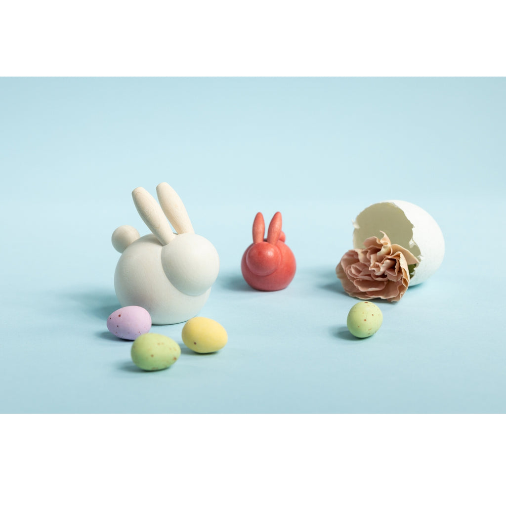 "Aarikka PUPUNEN bunny (1.6"" / 4 cm) 