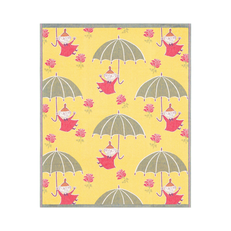 Ekelund moomin umbrella baby blanket yellow