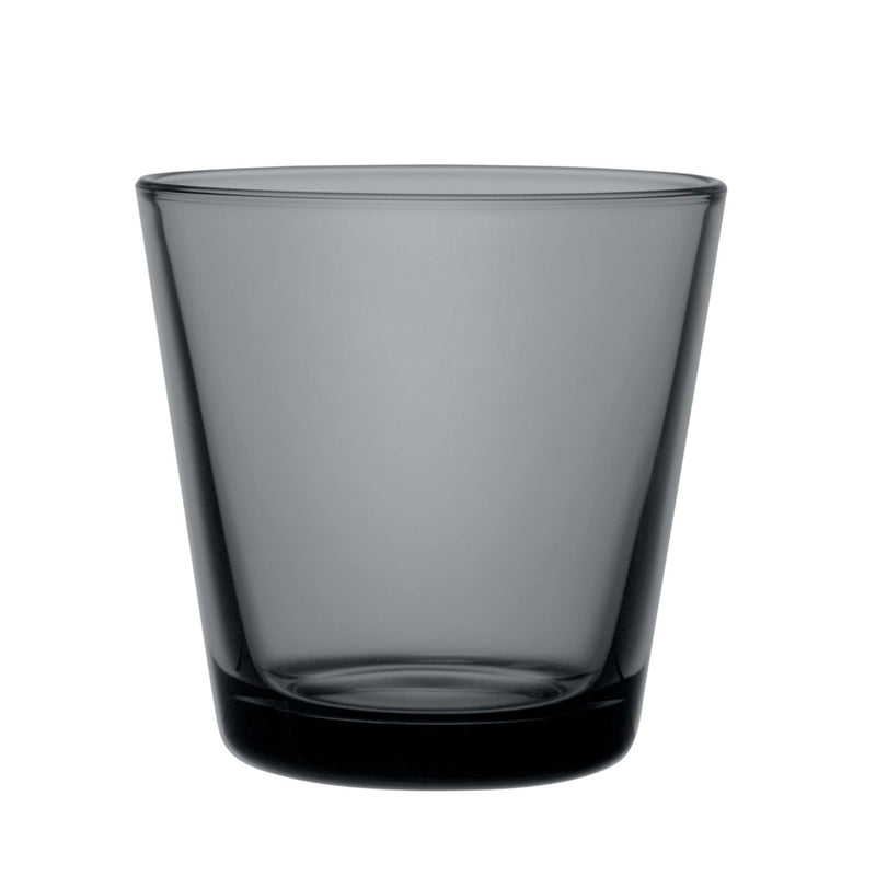 Iittala KARTIO (1958) Tumblers Set of 2 (7oz ) Dark Grey