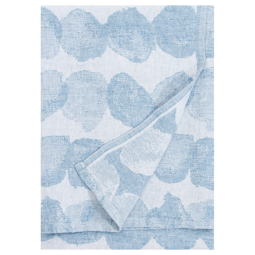 Lapuan Kankurit SADE 100% Linen Bath Sheet Rainy Blue