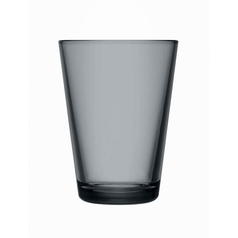 Iittala KARTIO (1958) Tumblers Set of 2 (13.5oz) Dark Grey