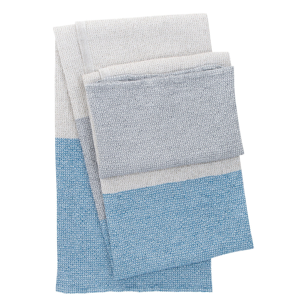 Lapuan Kankurit TERVA white-multi-rainy blue bath sheet