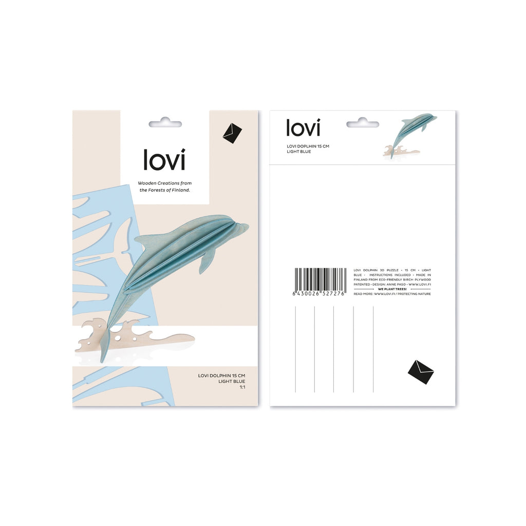 Lovi DOLPHIN light blue