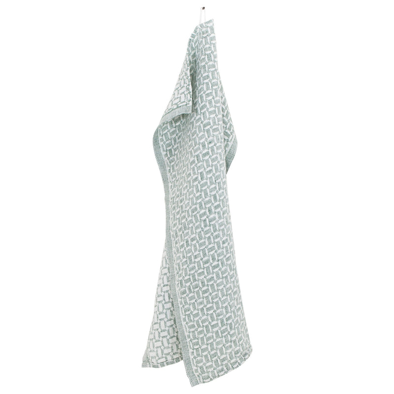 Lapuan Kankurit MAUSTE Tea Towel white-aspen green