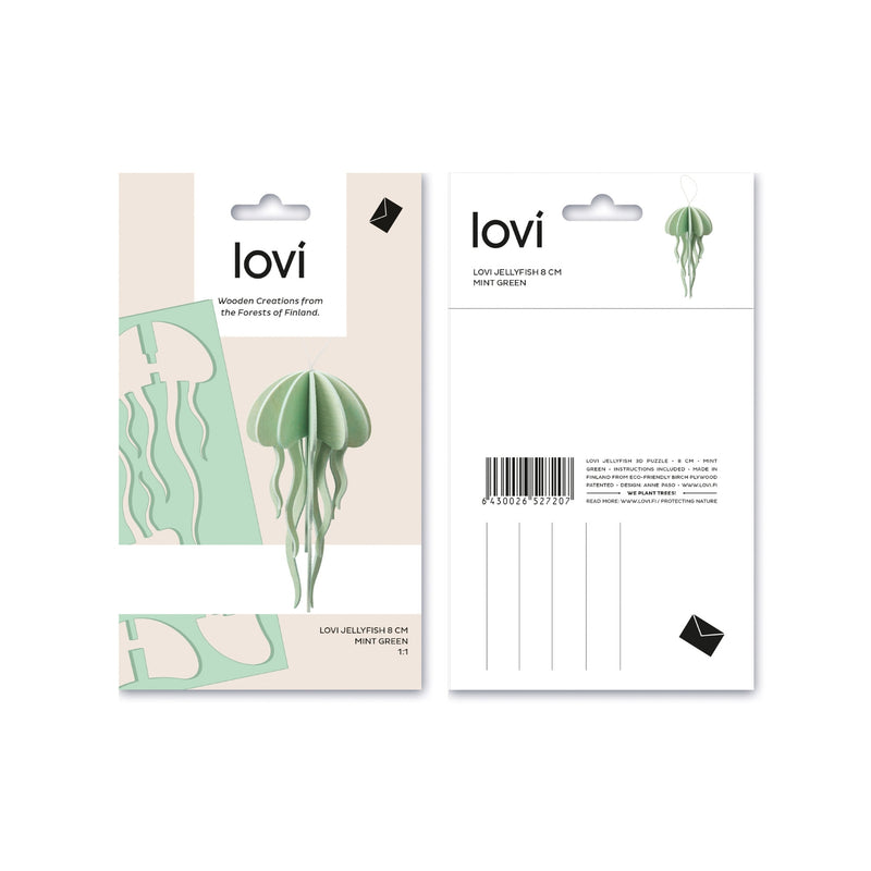 Lovi JELLYFISH mint green