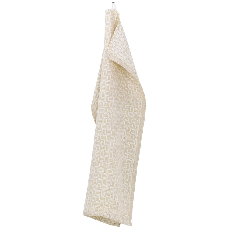 Lapuan Kankurit MAUSTE Tea Towel white-gold