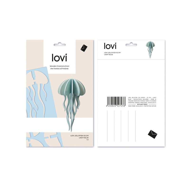 Lovi JELLYFISH light blue