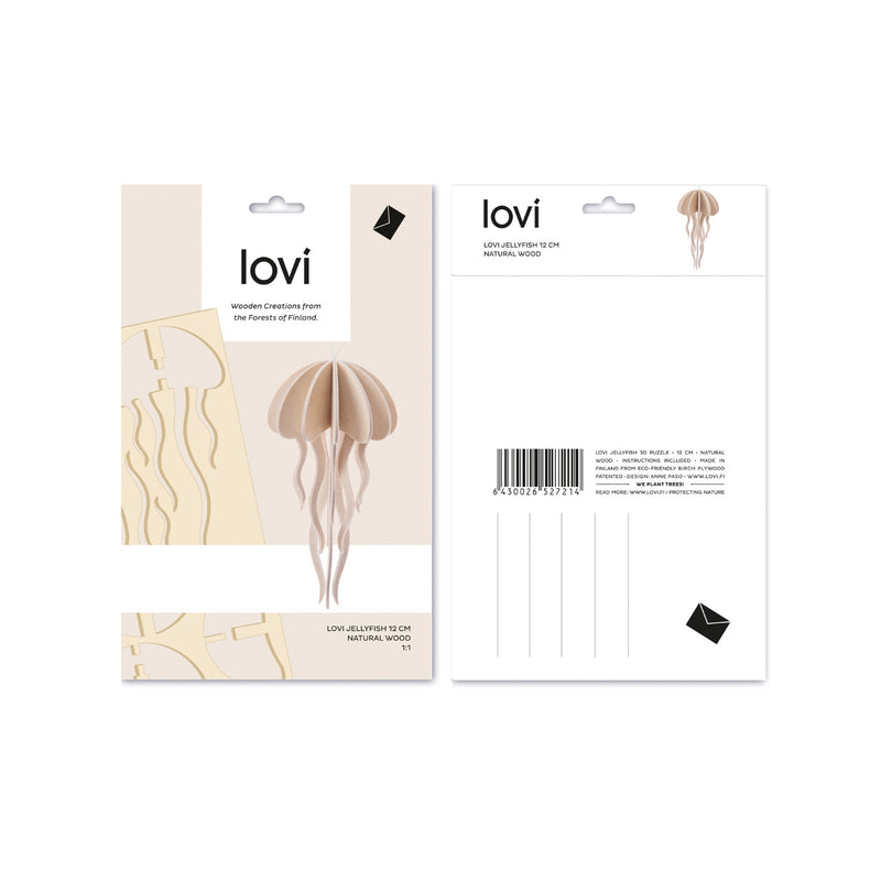 Lovi JELLYFISH natural