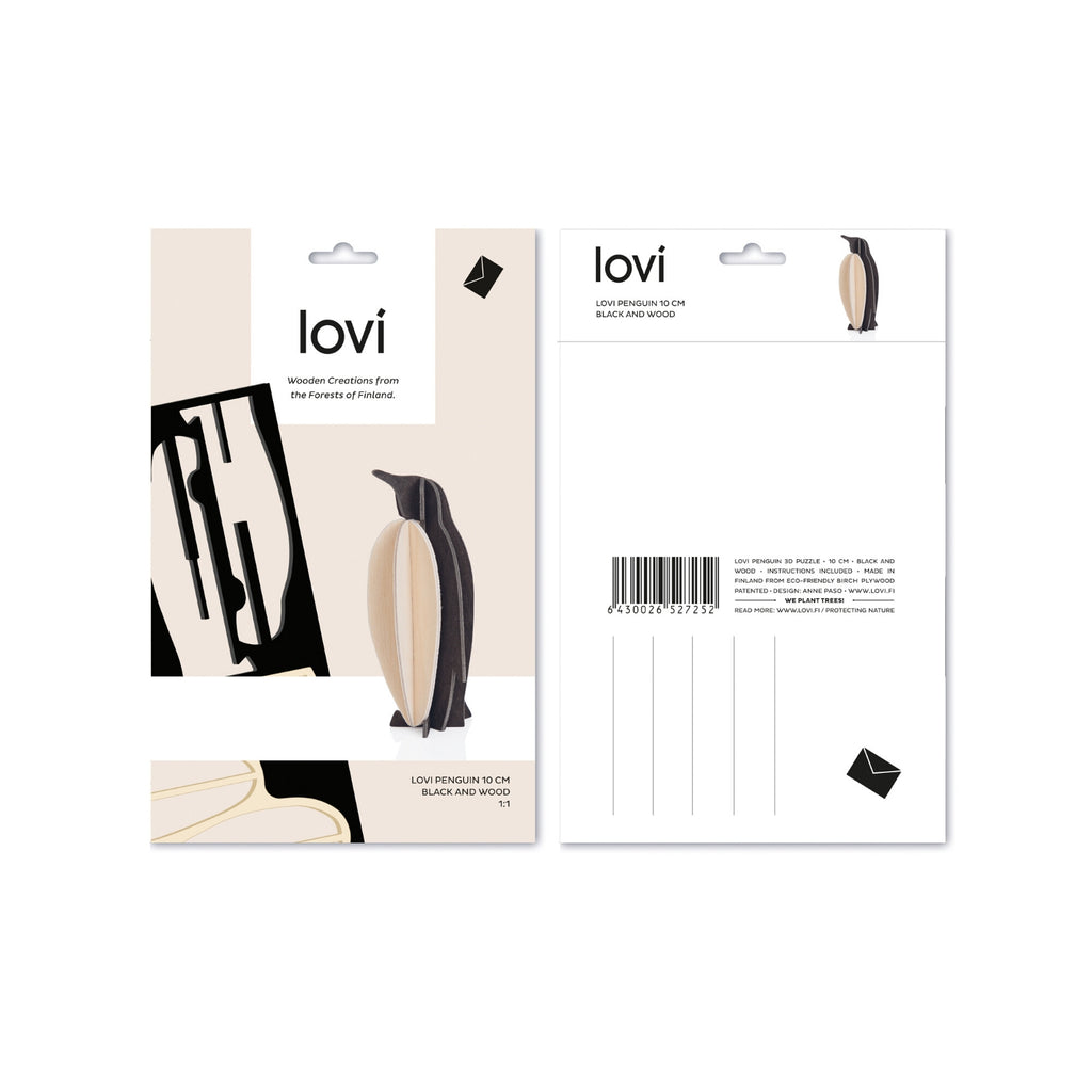 Lovi PENGUIN black