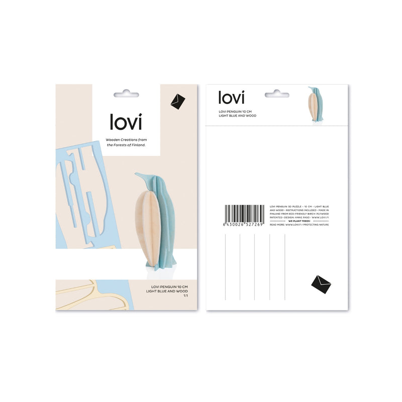 Lovi PENGUIN light blue