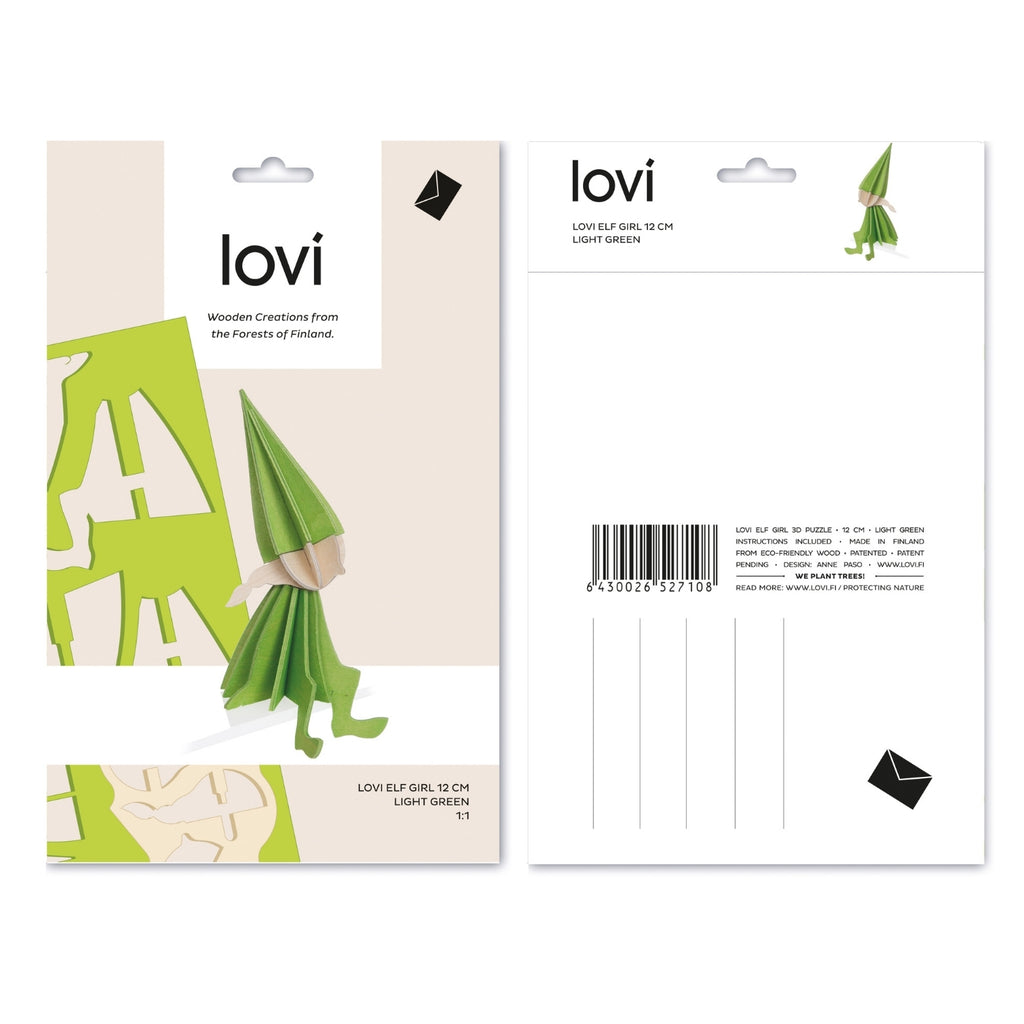 Lovi ELF GIRL light green 4.7""