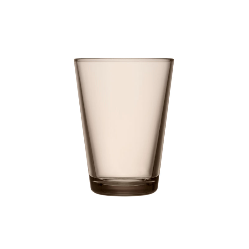 Iittala KARTIO (1958) Tumblers (13.5 oz) Set of 2 linen