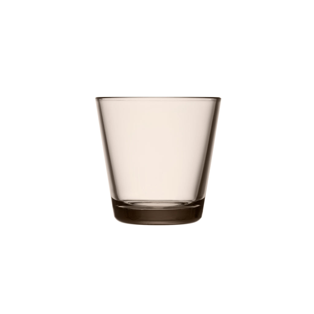 Iittala KARTIO (1958) set of 2 tumblers (7 oz) linen