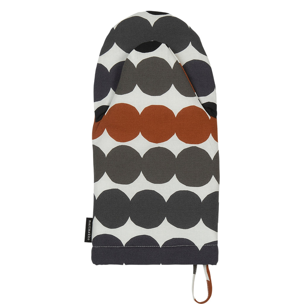 Marimekko RÄSYMATTO Oven Mitten brown black