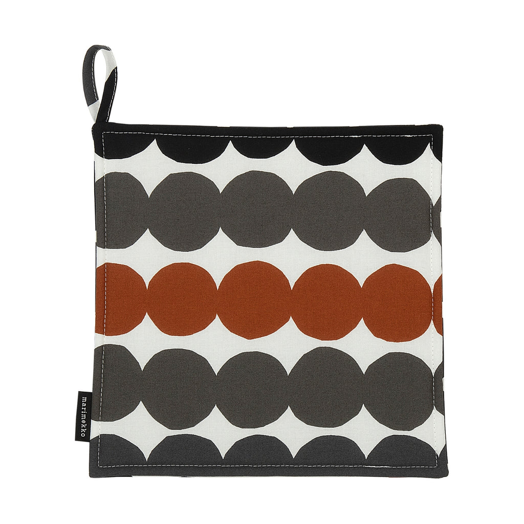 Marimekko RÄSYMATTO black brown Pot Holder