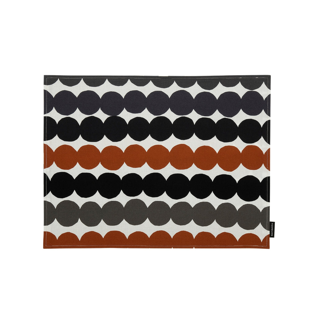 Marimekko RÄSYMATTO Placemat brown black