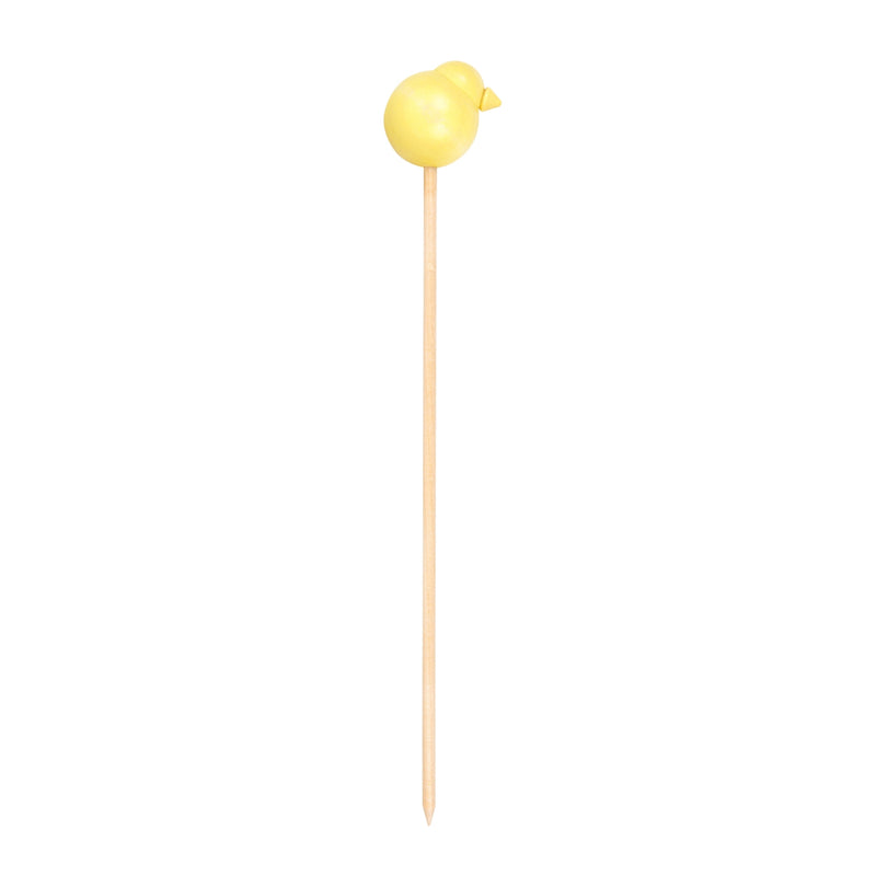 Aarikka PEIPPO Stick Decoration yellow