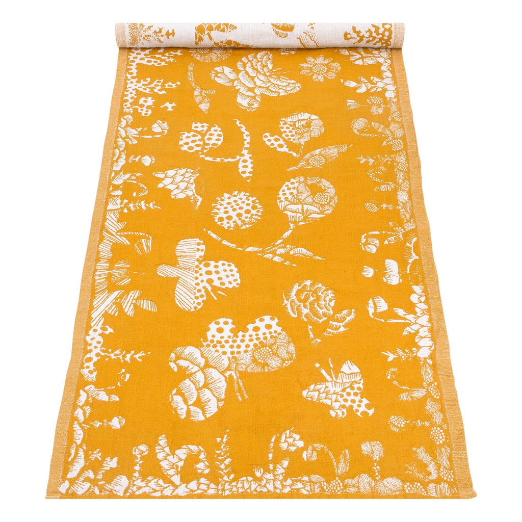Lapuan Kankurit AAMOS Table Runner (19 x 59) white-cloudberry