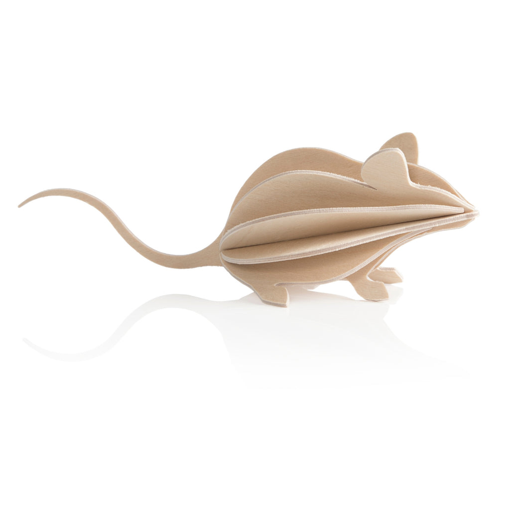 Lovi MOUSE natural wood