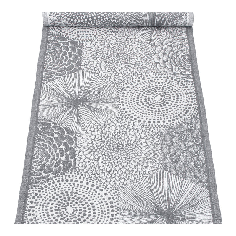 Lapuan Kankurit RUUT tablerunner in white-grey color