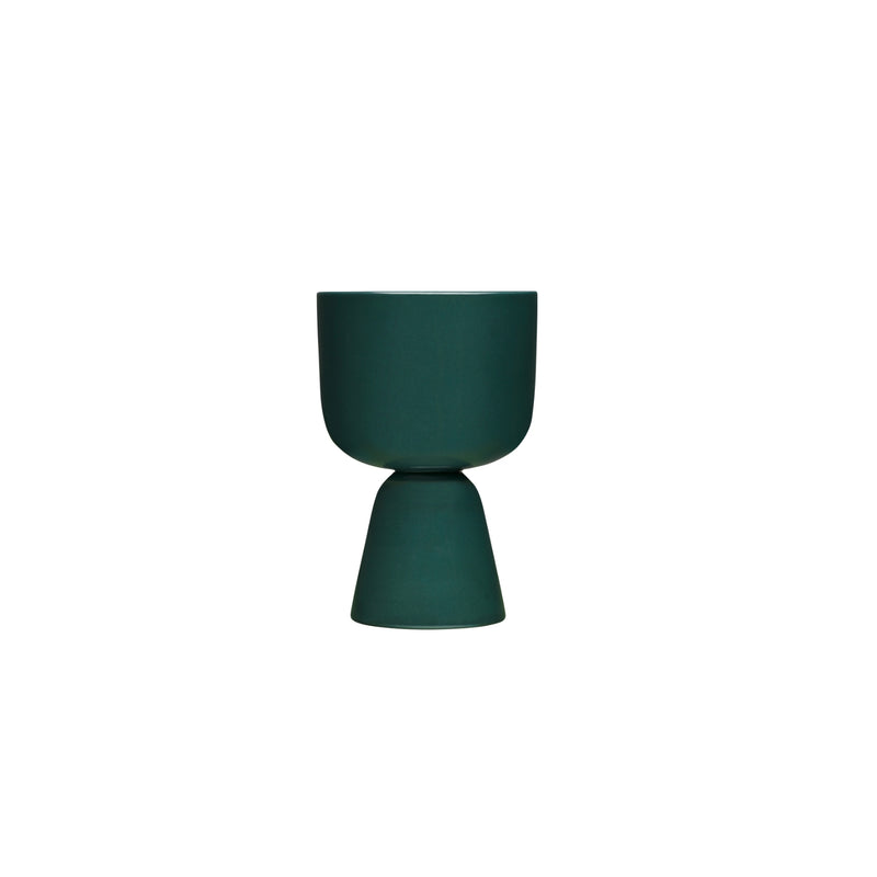 Iittala NAPPULA plant pot dark green