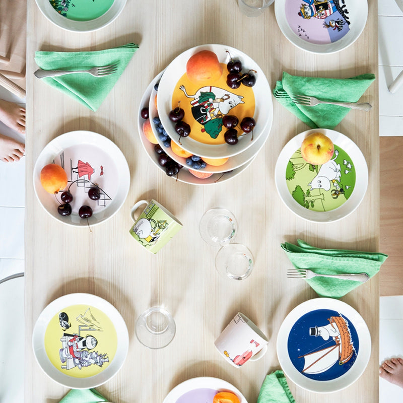 Arabia MOOMIN Classic Collection tableware setting