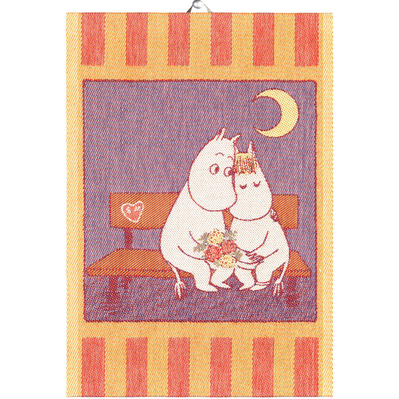 Ekelund MOOMIN SWEETHEARTS Tea Towel (14 x 20)