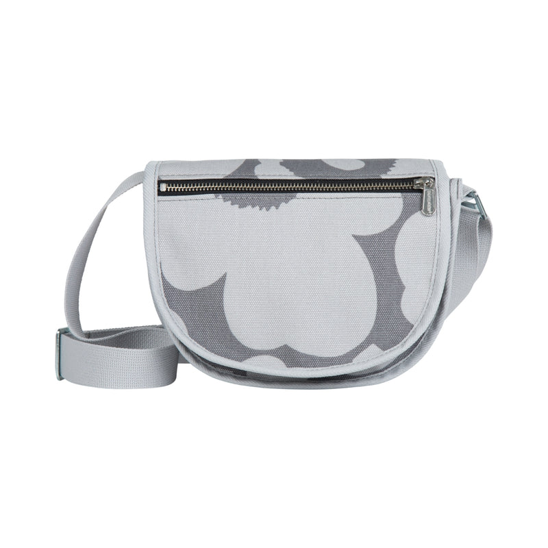 Marimekko Grey KERTTU PIENI UNIKKO Canvas Shoulder Bag