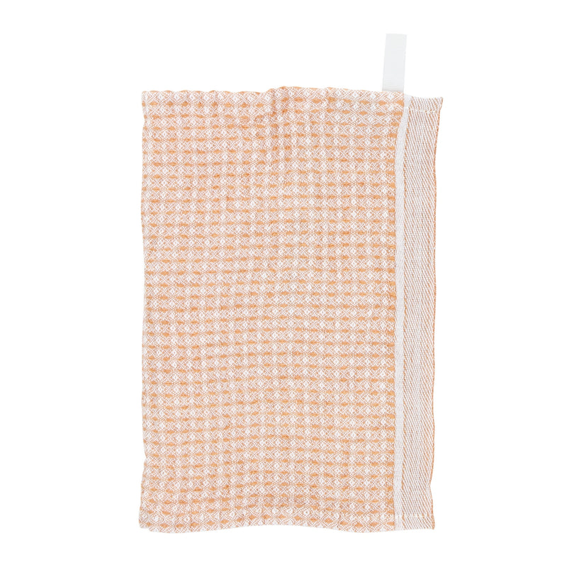Lapuan Kankurit MAIJA dishcloth white-cinnamon